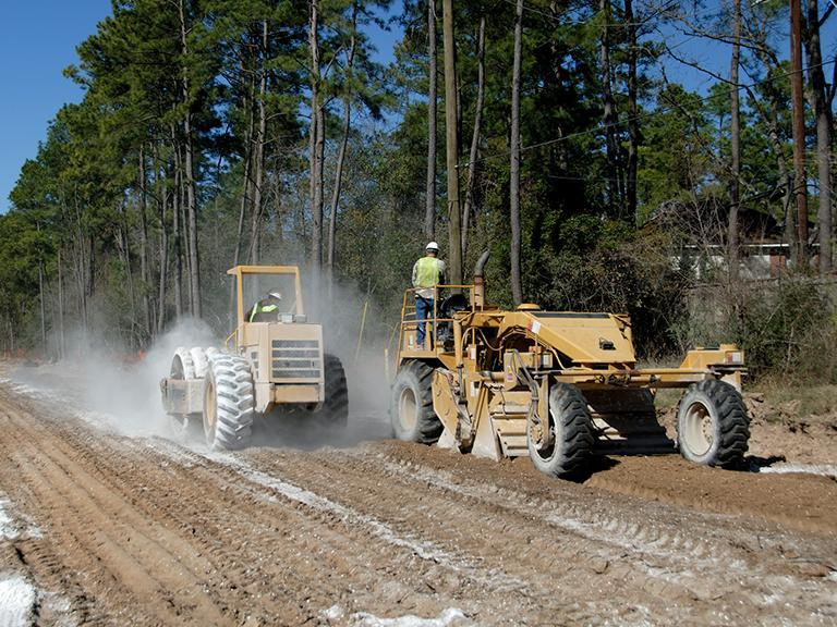 Mechaniczna stabilizacja gruntu